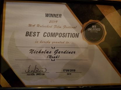 Awards – Nicholas Gardiner